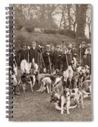 England: Hunters, C1905 Spiral Notebook
