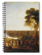 England, Richmond Hill, On The Prince Regent's Birthday Spiral Notebook