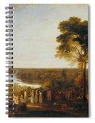 England Richmond Hill On The Prince Regent's Birthday Spiral Notebook