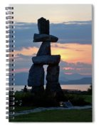 English Bay Vancouver Spiral Notebook