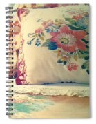 English Chintz With Green Tone Spiral Notebook
