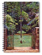 English Garden Elegance Spiral Notebook