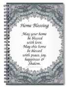 English Home Blessing Spiral Notebook