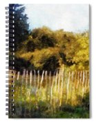 English Pastorale Spiral Notebook