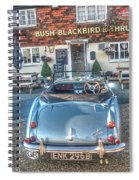 English Pub English Car Spiral Notebook