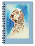 English Setter Spiral Notebook