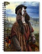 English Springer Spaniel Art Canvas Print  - The Port Spiral Notebook