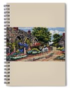English Tapestry Spiral Notebook