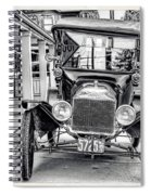 Englishtown New Jersey Antique Classic Car Spiral Notebook