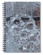 Engrenage De Glace / Iced Gear Spiral Notebook