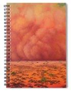 Engulfing Winds Spiral Notebook