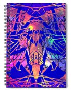 Enigma In Abstraction Spiral Notebook