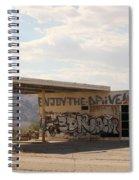 Enjoy The Drive Spiral Notebook