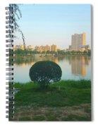 Enjoy The Sunset  Spiral Notebook