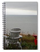 Red, White And View Spiral Notebook