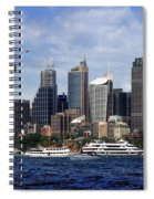 Enjoying Australian Day On The Water Spiral Notebook