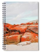 Enjoying The Moment Bay Of Fires Spiral Notebook