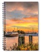 Enkhuizen Sunset Spiral Notebook