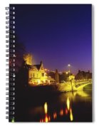 Ennis, Co Clare, Ireland Bridge Over Spiral Notebook
