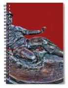 Enos Country Slaughter Statue - Busch Stadium Spiral Notebook