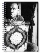 Enrico Caruso, Last Known Photo, 1921 Spiral Notebook