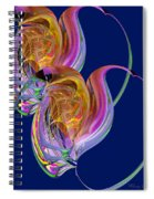 Entangled Hearts Spiral Notebook