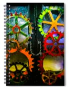 Enter Chained Melody  Spiral Notebook