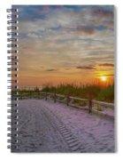 Enter Paradise- Avalon New Jersey Spiral Notebook