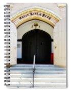 Enter, Rest And Pray Spiral Notebook