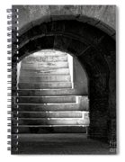 Enter The Arena Spiral Notebook