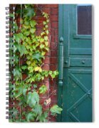 Enter Vine Door Spiral Notebook