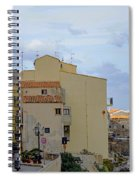 Entering Cefalu In Sicily Spiral Notebook