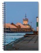 Entering Grand Haven Spiral Notebook