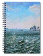 Entering In New York Harbor Spiral Notebook
