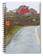 Entering Peggys Cove 6068 Spiral Notebook