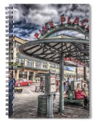 Entering Pike Place Spiral Notebook