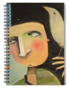 Entertaining The Muse Spiral Notebook