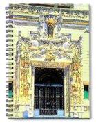Entrance Casa Grande Spiral Notebook