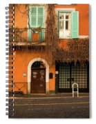 Entrance In Rome Spiral Notebook