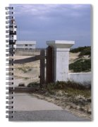 Entrance Of A Lighthouse, Cape Recife Spiral Notebook