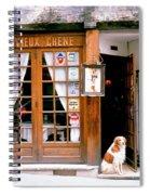 Entrance Paris France Spiral Notebook