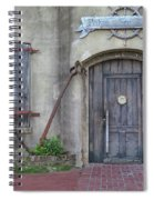 Entrance To An Old Chandlery Spiral Notebook