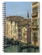 Entrance To The Grand Canal Looking West Spiral Notebook