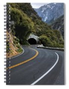 Entrance To The Valley Spiral Notebook