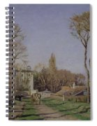 Entrance To The Village Of Voisins Spiral Notebook