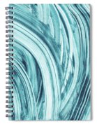 Entranced 1- Abstract Art By Linda Woods Spiral Notebook