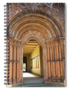 Entry Cross-coat  Spiral Notebook