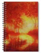Envisioning Illumination Spiral Notebook