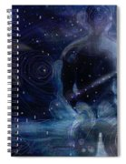 Ephemeral And Illusionary Existence Spiral Notebook
