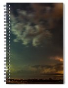 Epic Nebraska Lightning 006 Spiral Notebook